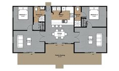 Image result for open plan kitchen dining outdoor access floorplan