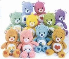 Gratis haakpatroon Troetelberen / Care Bears