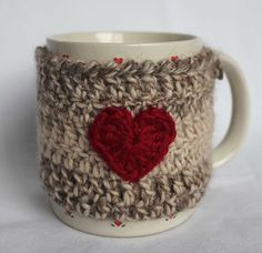 Pretty mug cozy! I may have to make one of my own ;)