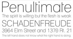 35 Beautiful and Free Thin Fonts (pictured - Lane)