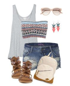summer look minus the shoes...