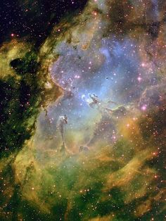 That one's always so incredible looking--it makes me want to float in it! --Pia (Eagle Nebula)