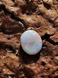 Gift Box Two Tones Fire Opal Ring 02 Gorgeous Flashes High Vibration Crystal Energy Size 7.5