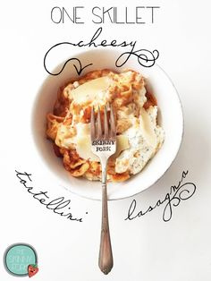 10WWpts+ for a cup, makes 8 servings, using part skim ricotta, part skim mozzarella, 1tbsp of grated Parmesan cheese and a light marinara sauce (I use Prego), EXCELLENT RECIPE!!! One Skillet Cheesy Tortellini Lasagna