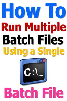 Run multiple batch files from a single batch file with a one line simple code. Read for more info. Electronic Kitchen Scales, Kitchen Electronics, Digital Kitchen Scales, Bbq Thermometer, Digital Thermometer, Windows 10 Hacks, Screen Timer, Portable Scale, Batch File