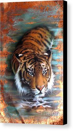 c5c45d274 Tiger in water Tiger Drawing, Tiger Painting, Tiger Ii, Bengal Tiger,  Wildlife