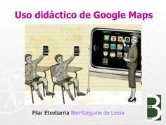 Uso didáctico de google maps