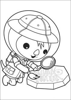 coloring pages to print octonauts | coloriage octonauts medic peso ... - Octonauts Coloring Pages Print