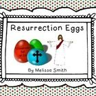 This is a full classroom set of resurrection egg cards and verses. (This is a digital download--you will need to gather the suggested items and 24 ...
