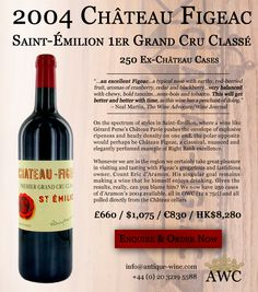 2004 Chateau Figeac - 250 Ex-Chateau Cases Available - The Antique Wine Company (AWC)
