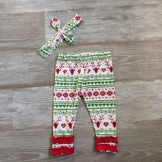 A personal favorite from my Etsy shop https://www.etsy.com/listing/243629257/christmas-newborn-outfit-take-home