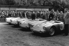 Works Porsche 550 LeMans 1954