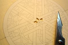 Carving the Rosette