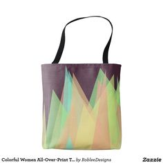 Colorful Women All-Over-Print Tote Bag