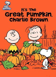 """Watching It's The Great Pumpkin, Charlie Brown"" From The Musings & Artful Blunders of Scott D. Southard"