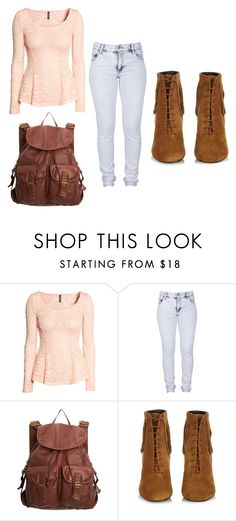 """Olivia"" by bambi2014 ❤ liked on Polyvore featuring H&M, Cheap Monday, dELiA*s and Yves Saint Laurent"