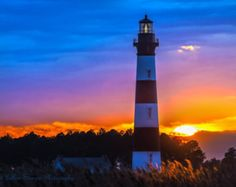 bodie island lighthouse art - Google Search