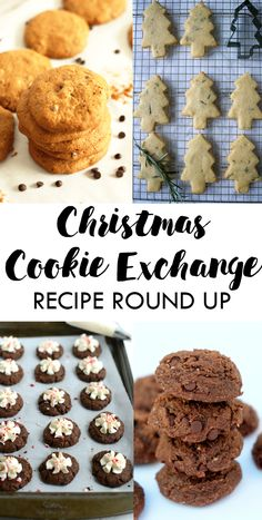 Christmas Cookie Exchange Recipe Round Up | Cookie recipes perfect for a Christmas Cookie Exchange party! | Lean, Clean, & Brie