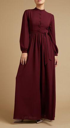Modest Fashion Hijab, Abaya Fashion, Modest Outfits, Fashion Dresses, Modest Clothing, Muslim Women Fashion, Islamic Fashion, Mode Abaya, Mode Hijab