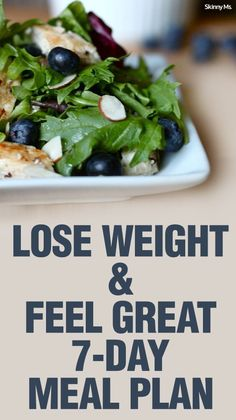 Our Lose Weight & Feel Great 7-Day Meal Plan is full of delicious recipes so you won't feel like you're on diet.