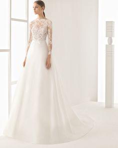Nilo vestido de novia Rosa Clará 2017