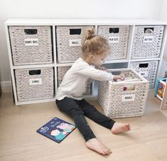 The ultimate Kmart must haves for an organised home! I mean whats better than Kmart and organisation? Apart from 6 hours uninterrupted sleep! Toy Room Storage, Puzzle Storage, Storage Tubs, Small Bathroom Storage, Kids Storage, Cupboard Storage, Storage Ideas, Kitchen Organization Pantry, Home Organization Hacks