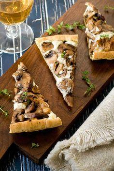 Easy Gluten Free Mushroom Tart