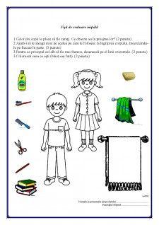 Proiect Fise de evaluare initiala grupa mijlocie < Pedagogie (#379954) Kindergarten Worksheets