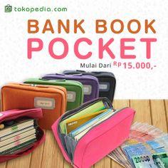 Gunakan bank book agar semua barang-barang yang ingin kamu bawa saat travelling lebih tertata rapi. Mulai dari 15ribuan aja, dengan klik link ini: http://www.tokopedia.com/hot/bank-book