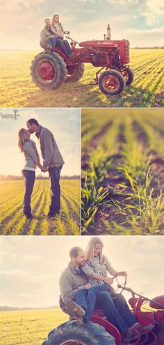 Country love engagements! Even better that I know the people in them!