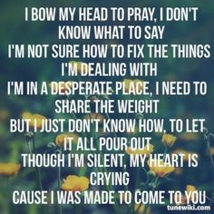 njpuppydog98 shared Pray by Sanctus Real | TuneWiki.com