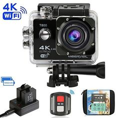 Navitech 60-in-1 Action Camera Accessories Combo Kit with EVA Case Compatible with The Veho Muvi K-Series Action Camera