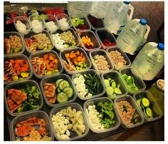Meal prep is key if you want to succeed at losing weight.