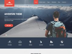 Adventure Lite WordPress theme can be used for adventure, sports, hiking, trekking, railing, rafting, games, fun, elking, hunting, military, mountain climbing, skiing, surfing and other such adventure sports. Also can be used for tours and travels, camping, hotel, students, summer camps, skating, motels, service industry, and other corporate, business, photography and personal portfolio websites. Is simple, flexible and multipurpose with having multi industry use. It is compatible with…