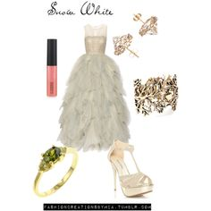 Once Upon A Time: Snow White, created by ohana13 on Polyvore