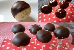 Csokis-kekszes gesztenyegolyók