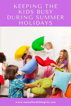 Not everyone is going away, here are a few ideas of things to do with the kids over the summer holidays. Keeping kids busy over the summer doesn't have to be expensive. Money saving ideas for things to do with kids over the summer.