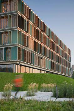 Copenhagen Business School, The Wedge, Copenhagen, Denmark, by Lundgaard & Tranberg