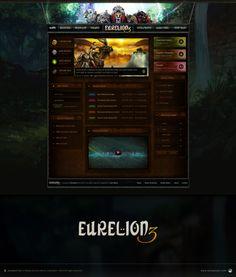 Eurelion3 Web UI by AzizNatour.deviantart.com on @deviantART