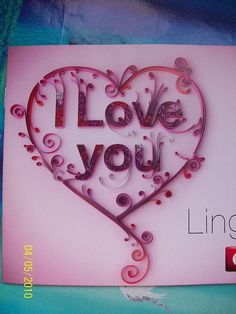 Love quilling