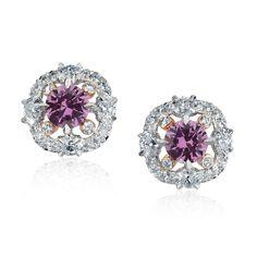 Violet Sapphire Jewelry - Fabergé Marie Violet Sapphire Earrings