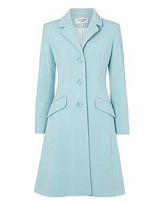 Helene Berman Wool-rich Coat | Gray & Osbourn