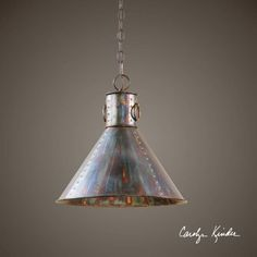 Uttermost 21923 Levone 1 Light Drum Pendant