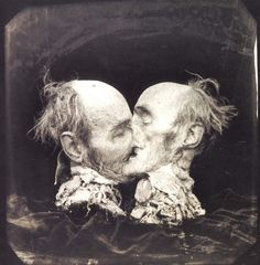 View The Kiss, Le Baiser, New Mexico by Joel-Peter Witkin on artnet. Browse more artworks Joel-Peter Witkin from Etherton Gallery. Joel Peter Witkin, The Kiss, Post Mortem Photography, Art Photography, Macabre Photography, New Mexico, Tv Movie, Max Ernst, Dark Art