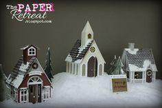Christmas Village by Guest Designer Melanie Fink