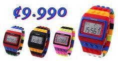 Reloj de Estillo Lego ¢9.990!!!! Envio Gratis en todo el GAM!!!