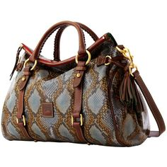Dooney & Bourke Satchel ($468) ❤ liked on Polyvore