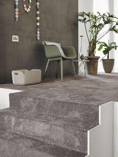 woontrend natural living tapijt in grijs