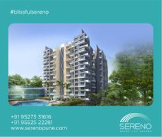 At Sereno, you will belong to the green side of life throughout the year.  #blissfulsereno www.serenopune.com