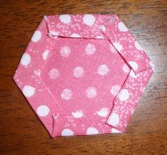 hexagon tutorial for English paper piecing Sue Daley Sewline glue stick method